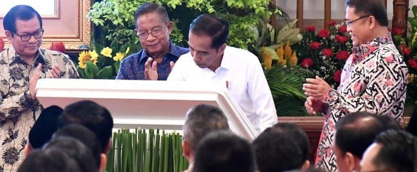 Presiden Resmikan Proyek Palapa Ring, Misi Pemerintah Satukan Indonesia Lewat Internet Tercapai