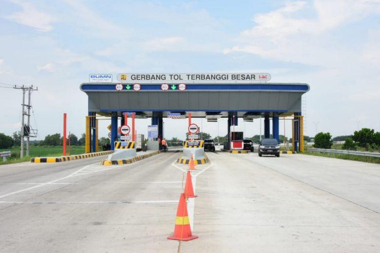 Pembangunan Jalan Tol Trans Sumatera ruas Terbanggi Besar – Pematang Panggang-Kayu Agung Segera Selesai