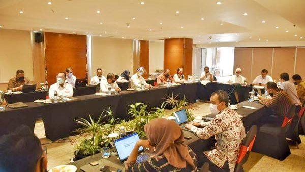 Rapat Pembahasan integrasi Jalan Tol Semarang- Demak dengan Tanggul Pantai Semarang