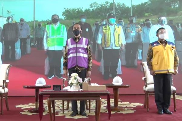 Presiden Jokowi Resmikan Tol Pekanbaru-Dumai Sepanjang 131,5 Kilometer