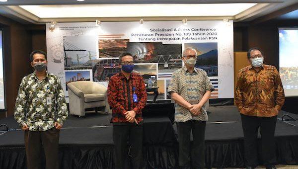 Pemerintah Berhasil Selesaikan 11 Proyek Strategis Nasional di Tengah Pandemi