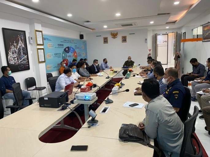 Kunjungan Lapangan Ketua Tim Pelaksana KPPIP ke Tanjung Jarat – Sumatera Selatan