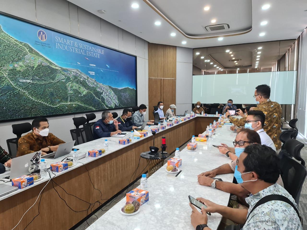 Kemenko Perekonomian Dorong Percepatan Pembangunan Infrastruktur Penunjang di Kawasan Industri Terpadu Batang